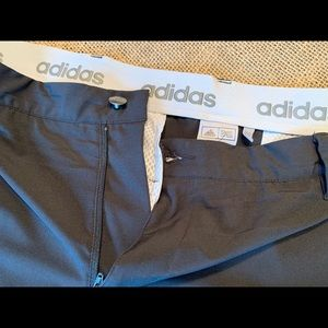 Adidas men's black golf pants
